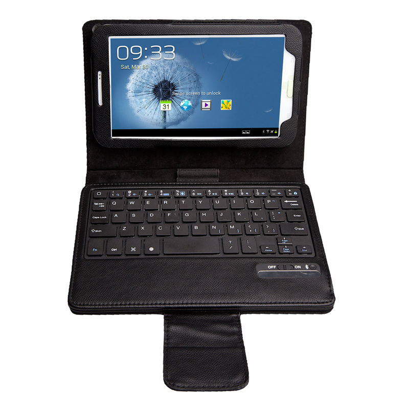 Detachable Bluetooth Keyboard Case Cover For Samsung Galaxy Tab 3 7.0 T210 T211