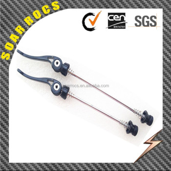 Soarrocs aluminum quick release for road bike wheels parts alloy skewers