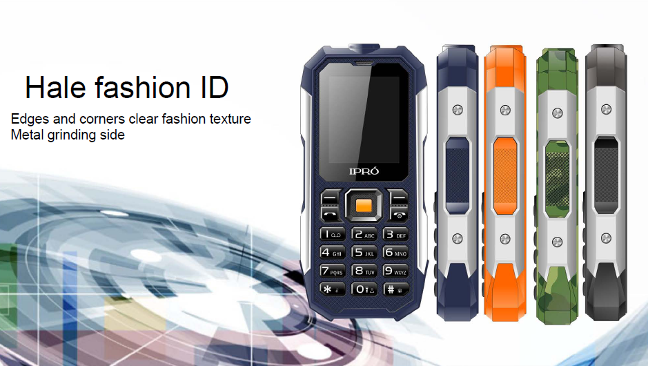 China Factory Seller ipro shark 2 inch feature phone three proofing gsm quad band mobile 850/900/1800/1900mhz TFT