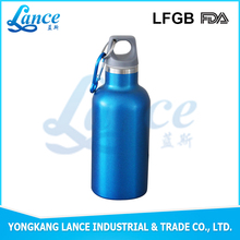 Food safe 350ml sports water bottle carrier