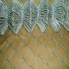 HOT SALE!pvc coated chain link Fence for sports ground ISO9001