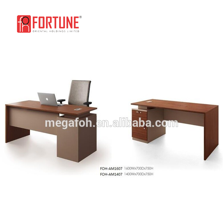 Study table designs wooden computer table/cheap computer desk(FOH-AB161&FOHAB141)