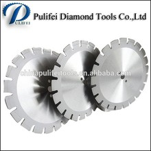 Cutting Tools Of Asphalt / Green Concrete Cutter Diamond Blades Rock Cutting Saw Blade