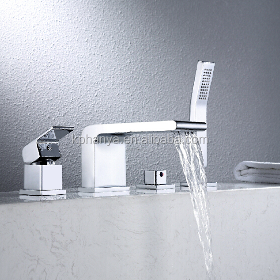 New Modern Waterfall Bathtub Faucet