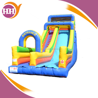 fun inflatable slide, unique inflatable slide and climb bounce