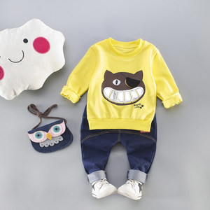 Hot new products cartoon boys suit trouser children clothes alibaba supplier