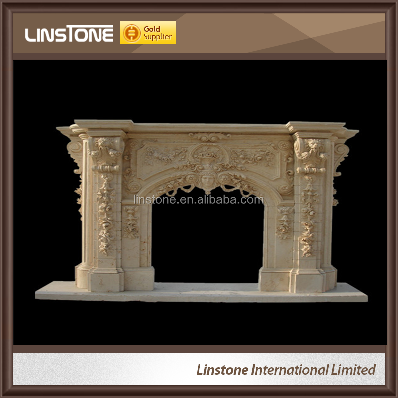 Indoor Used Cheap Fireplace Mantel Of Marble Buy Cheap