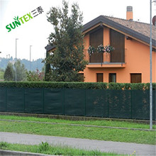 factory supply high quality hdpe dark green fence net america market wind break net