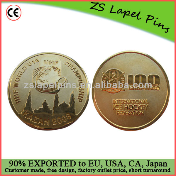 wholesale gold challenge coins