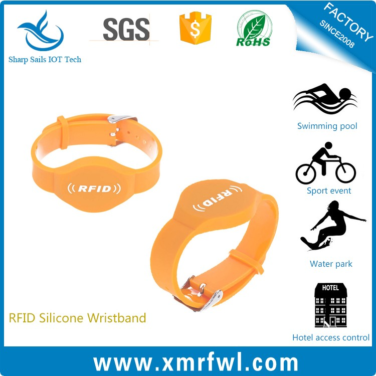 Cham design RFID wrist strap for pageant event