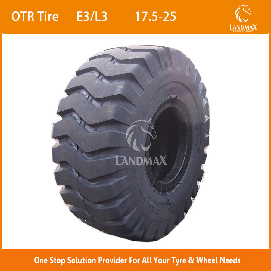 China Supplier Wheel Loader Tire 17.5-25 20.5-25 Off Road Tire