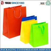 Summer holiday T-shirt paper packaging bag