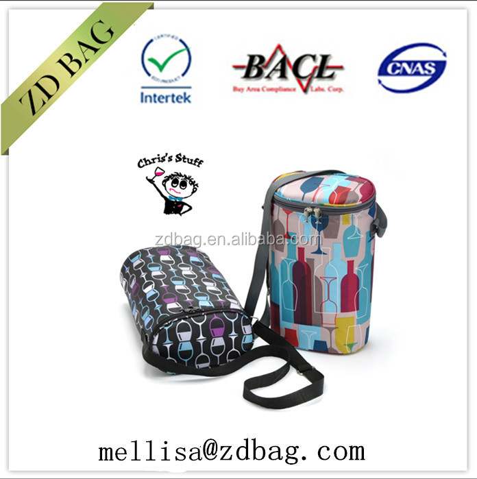 cake packing disposable cooler bag speakers lunch box with Dual Compartments