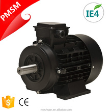 4 pole IE4 380V 400V small current 5500w permanent magnet synchronous motor for air compressor