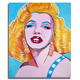 High quality original handmade Marilyn Monroe art popular 32X40' decorative oil painting