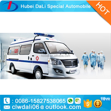 Toyota hiace ICU ambulance with monitor stretcher for sale