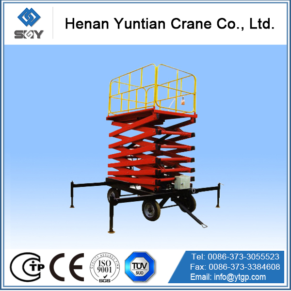 GTJ model hydraulic table lift, widely used more convenient for user