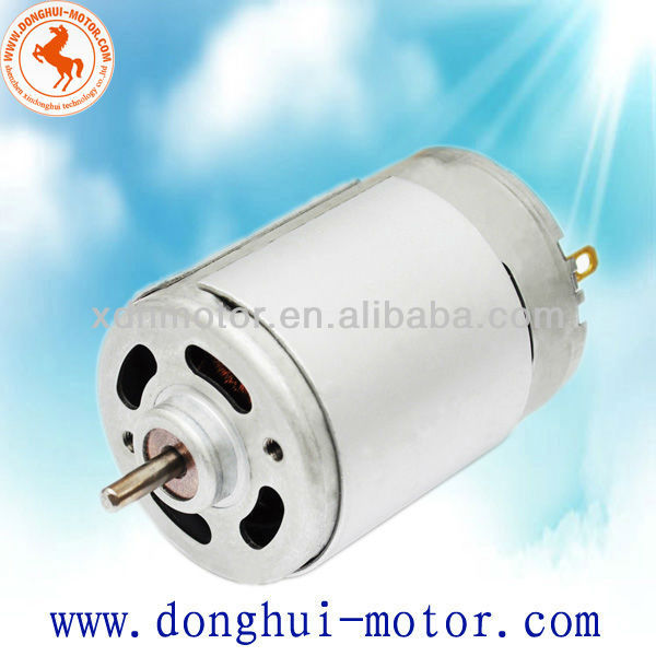 dc motor traction