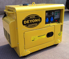 3KVA Soundproof portable diesel generator for home use