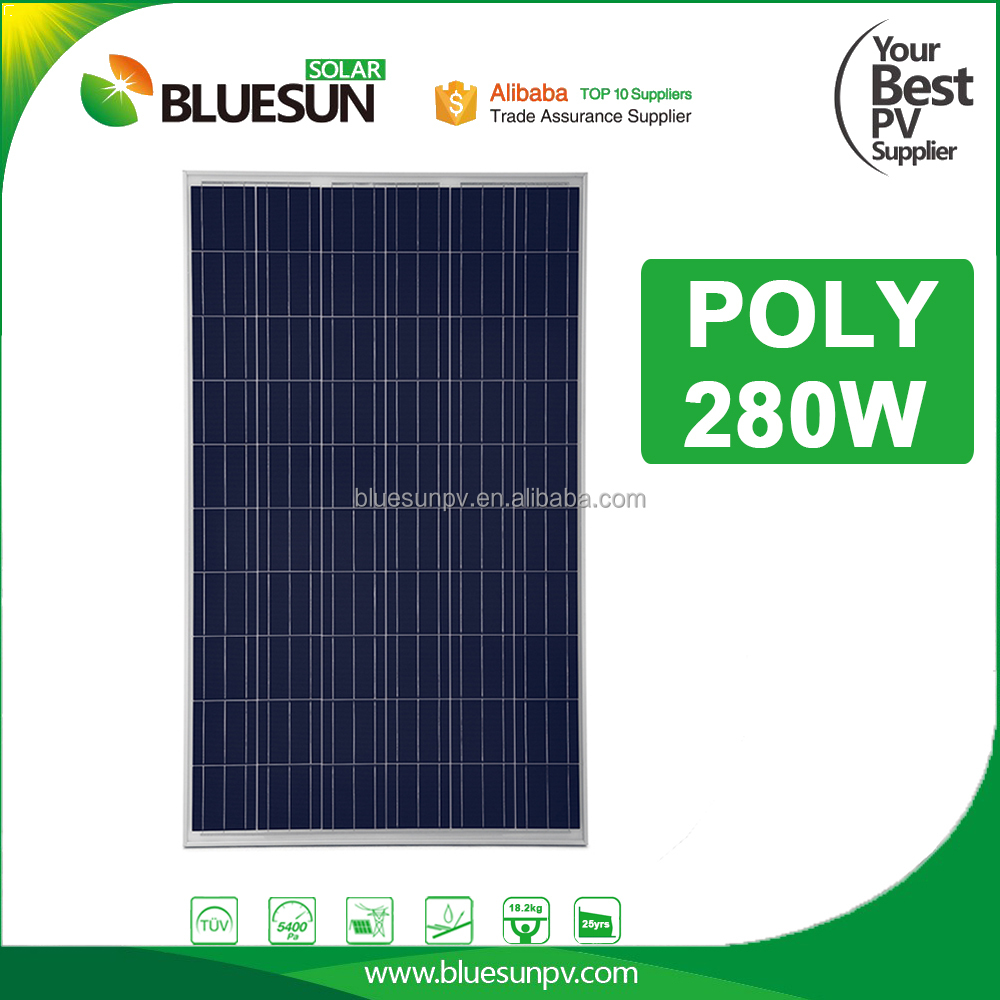 Top sale poly 280 watt solar panel