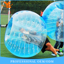 Factory Wholesale 2017 TPU Inflatable Soccer Bubble/1.5m TUP Fotball for Adult