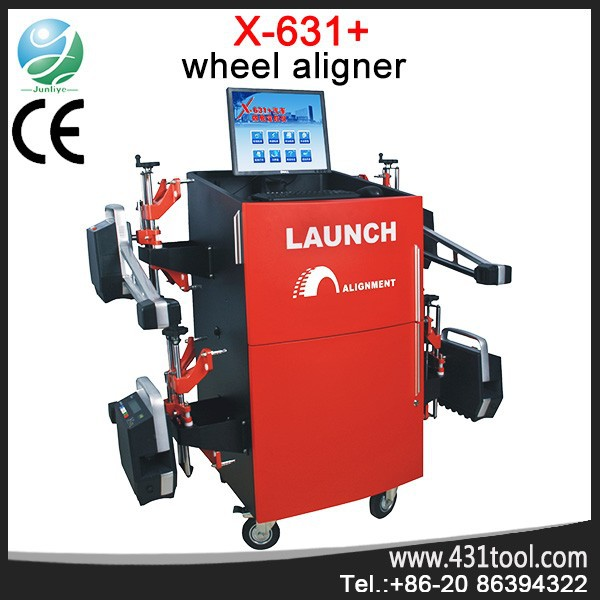 High quality and best price Launch X-631+ car wheel alignment lift repair turntable machine for all car