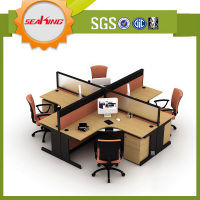 2015 Office furniture cheap price 4 person office partition