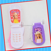 2017 new Calling music talking mobile phone lighting telephone toy with sweet candy