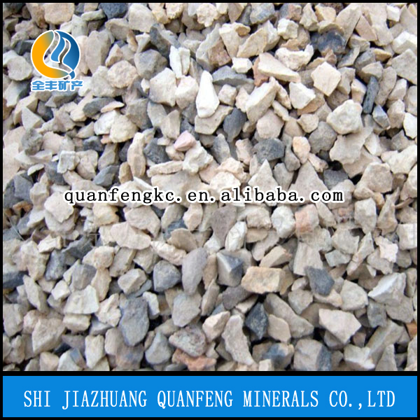 88% Al2O3 China Main Origin Shaft Kiln Calcined Bauxite