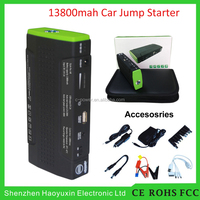 Shenzhen factory Provide 12v Car Dead Battery Instant Jump Start Multifunction mini jump starter with smart cable