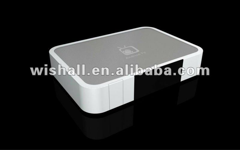 google tv box android 2.3 media player with flash player+Wi-Fi+HDMI+RJ45 Android market