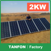 2kw solar power equipment 2kw solar power installation 3kw photovoltaic plant for refrigerator,TV,laptop,fan