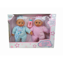 Set of 2 Baby Dolls Set 11.5 inches Baby Dolls Toys Crying Dolls For Kids