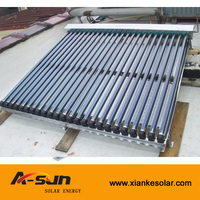 separated pressurize tube solar collector