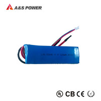 Rechargeable 45C 503496 1200mah polymer lithium battery pack 12v for RC Toys
