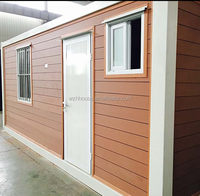 Assembly Modern wood insulated prefabricated site office Waterproof