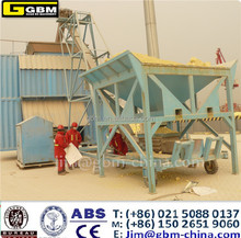 Containerized Mobile weighting bagging machine unit grain food container