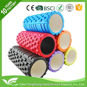 2016 high quality foam roller customized logo with eva foam roller fitness yoga eva foam roller for wholesales