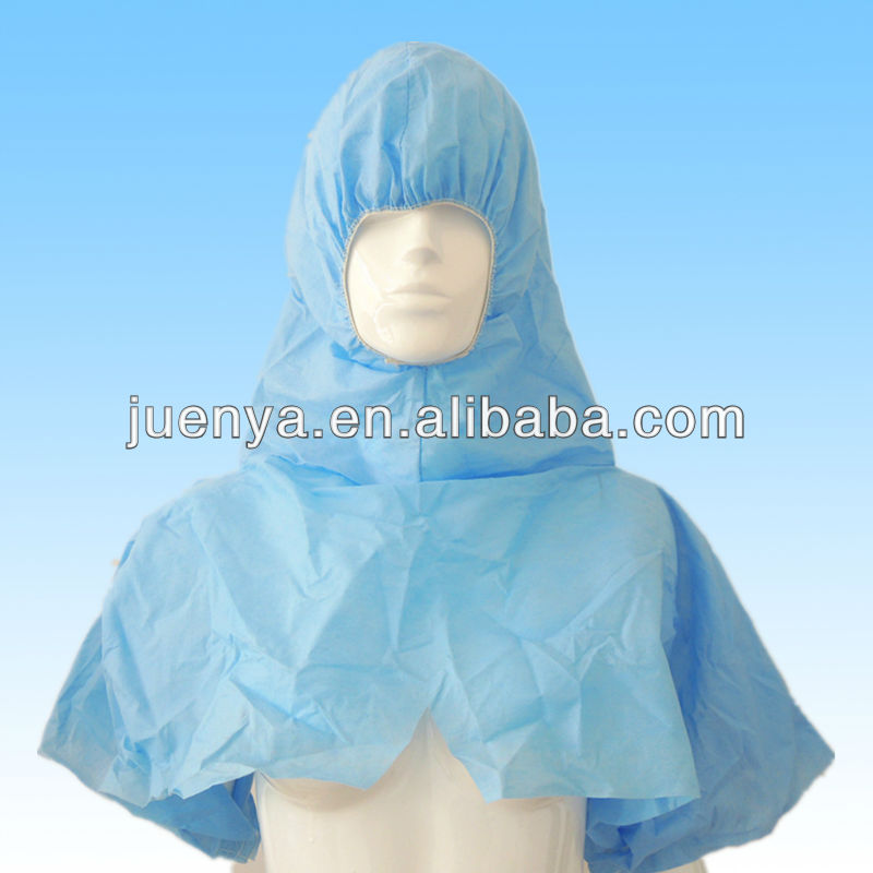 Non woven disposable head cover with different colors and sizes available
