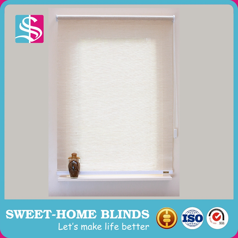 100%polyester mini rolling up blinds for window