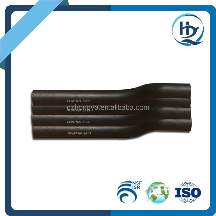 80mm 60 Degree Exhaust Elbow Pipe Silicone Oil Hose Fuel Hose