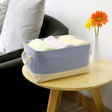 narrow basket magazine storage basket linen closet organizer