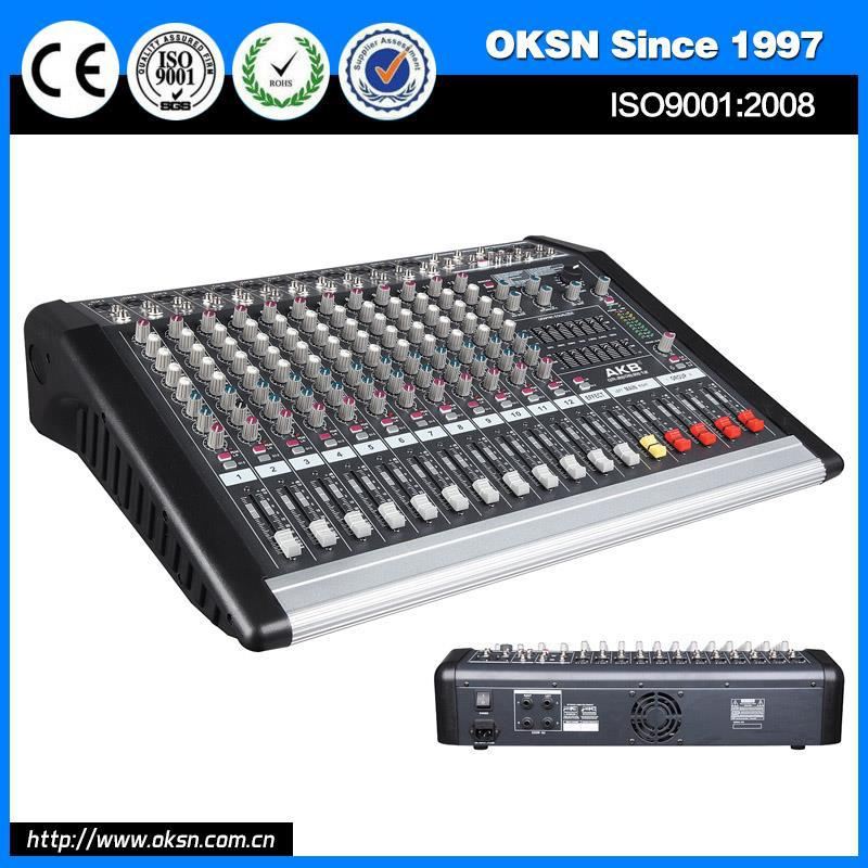 Professional GR-2608 behringer16-channel audio mixer with CE certificate
