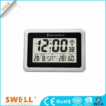 radio control clock time , weather forecast station electronic clock