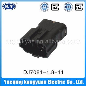 High quality professional black waterproof 8 pin female connector,8 pin wire connector
