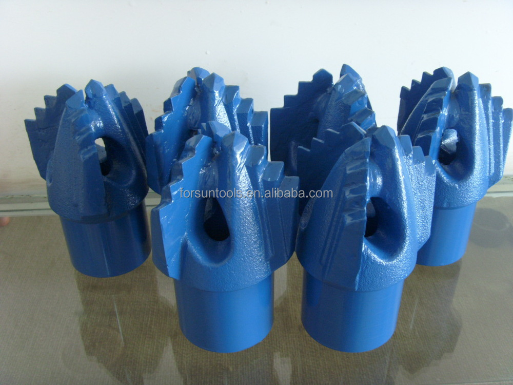 Drilling drag bit, Chevron step drill bit for clay sand water well drilling