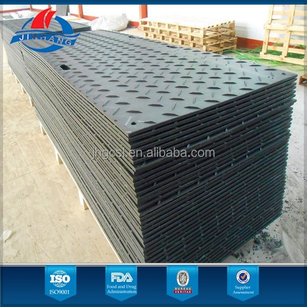 High quality hdpe ground protection road mats/track mats temporary access road ramps