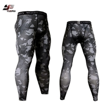 Custom compression gym wear compression tights men