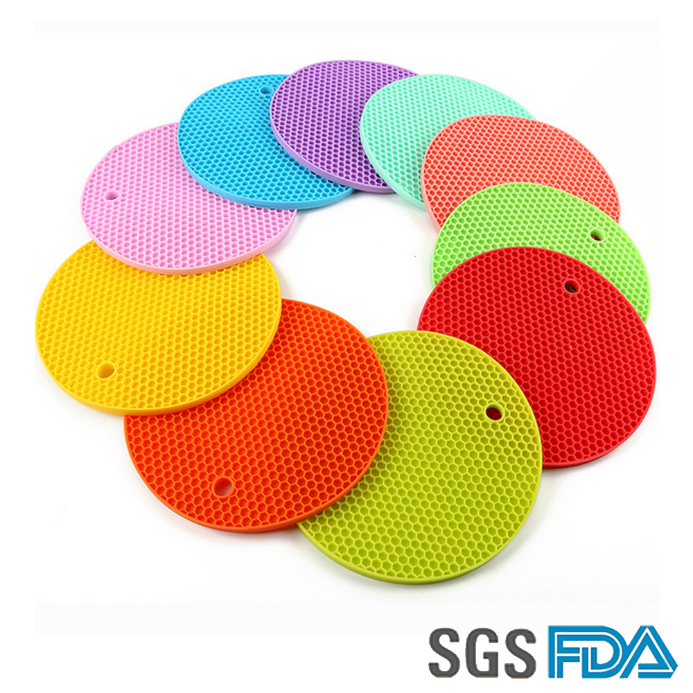 Heat Resisting Silicone Pot Holder, Silicone Pot Cushion