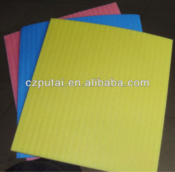 Natural cellulose sponge cloth